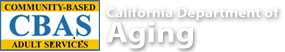community based adult services California department of aging
